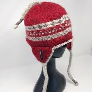Everest Designs wool sherpa earflap stocking hat